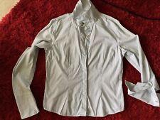 Shirt Blue White Stripe 100% Cotton Classic Style Size 16 US Tommy Hilfiger