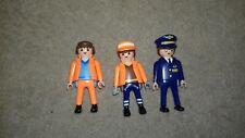 Juguetes para niños 3 figuras aerolínea capitán & Playmobile Hombres Servicio De Aeropuerto