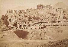Albumen Print of Acropolis, Athens, Greece c. 1875
