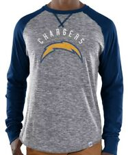 Los Angeles Chargers Majestic NFL Corner Blitz Long Sleeve Tee Shirt XL Raglan