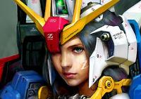 Anime Gundam 00 GN 001 Gundam Exia Silk Poster Wallpaper 24 X 13 inch
