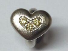 Endless Jewelry Charm Citrine Triple Love 41300-5 rrp £35