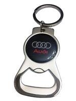 AUDI Bottle Opener Stainless Steel Key Chain Ring for Audi Fans