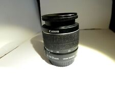 Canon EF-S 18-55mm f/3.5-5.6 IS II Zoom Lens FOR PARTS/REPAIR -AF NOT WORKING