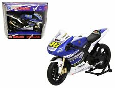 NEWRAY 1:12 MOTORCYCLE 2013 YAMAHA FACTORY RACING YZR-M1 Model 57583
