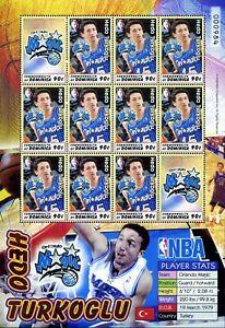 2006 Dominica, basketball, NBA stars, 6 sheets (set), MNH