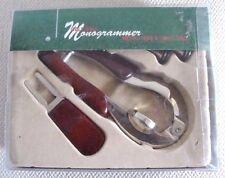 Golf Ball Monogrammer w/ Metal Tees & Dovot Tool Set Milson & Louis New in Box