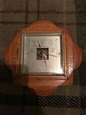 Lovely Art Deco Oak  Barometer