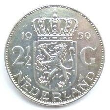 2½ Gulden, Silber, 1959, Niederlande (1923) <