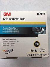 3M™ Hookit™ Gold Disc, 3 inch, P240 grit, 00915 915 50 Discs Per Box