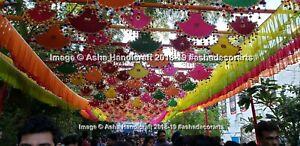 Großhandel Indisch Handmade Dekorativer Wandbehang Pankhi Rollen Ventilator 20Pc