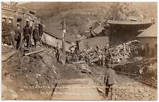 RPPC Austin Dam Disaster Post Office & Buildings in Austin, Pennsylvania~107688