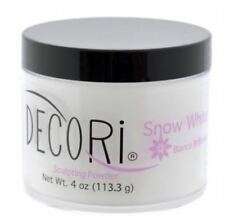 4 oz Professional Acrylic Adoro decori SNOW WHITE 3d french compare mia secret