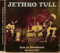 "JETHRO TULL : ""Live In Stockholm 1969"" (Radio Broadcast) (RARE CD)"