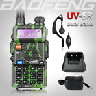 2018 BAOFENG UV-5R Green Dual Band 136-174/400-520Mhz Walkie Talkie Ham FM Radio