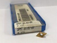 VALENITE DPMT 21.512A New Carbide Inserts Grade V1N 1pc