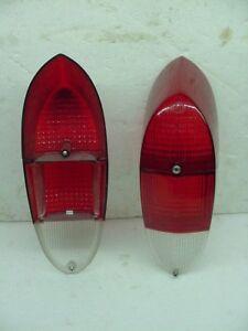 oem nos German Volkswagen Karmann Ghia 1970-1971 hella Red Tail Light Lense pair