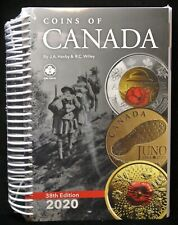2020 COINS OF CANADA Price Guide - 38th Edition by Haxby & Wiley - SEALED & NEW