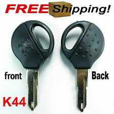 1 BLANK KEY NEW FIT FOR PEUGEOT 106 206 306 405 C2 C3 SERIES NO CHIP