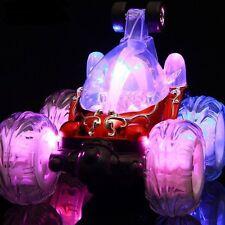 RC REMOTE CONTROL RECHARGABLE TURBO TWISTER STUNT CAR 360 FLASHING LIGHT& Sound