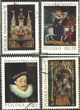 Polen 2346-2349 (kompl.Ausg.) gestempelt 1974 Polnische Kunst