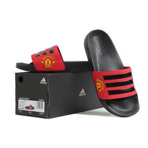 Adidas Adilette Shower Manchester United Slides Sandals Slipper Black/Red FW7072