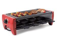 Indici15 Raclette per 8 persone antiaderente e Pietra Naturale 1200w by Beper