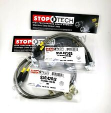STOPTECH STAINLESS STEEL FRONT + REAR BRAKE LINES FOR 07-13 INFINITI G35 / G37