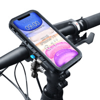Waterproof for iPhone Case aluminum Mount Holder For Bicycle Bike motorcycle