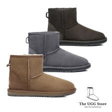 Classic Mini UGG Boots Australian Sheepskin leather Unisex Water Resistant