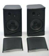 Vintage Speakers Advent Mini Indoor / Outdoor Black Newly refoamed, Tested