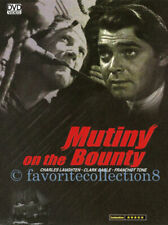 Mutiny on The Bounty Charles Laughton Clark Gable DVD Like With Slipcover