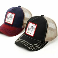 Gorin bros new Trucker Hat Men Mesh Cap Snap back Vintage farm animal Unisex