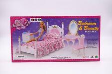 "My Fancy Life (Gloria) Bedroom & Beauty, 11.5"" Doll furniture/(2319)"