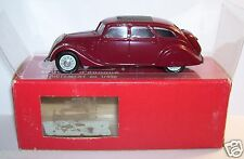 RARE KIT RESINE DUBRAY MADE IN FRANCE PEUGEOT 402 B 1938 GRENAT 1/43 IN BOX