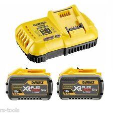 DEWALT flexvolt piles Kit de démarrage dcb118 X2 Chargeur 2x 54V 3 Ah / 18V 9