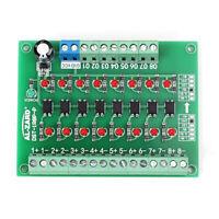 8CH Photoelectric Isolation Module Level Voltage Converter PNP Output PLC Signal