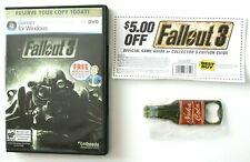 Fallout 3-NUKA COLA ouvre-bouteille-Best Buy Pré-commande Promo 2008-Scellé