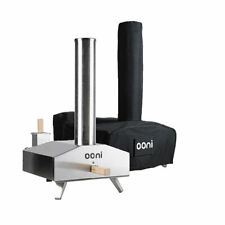 Ooni 3 Wood-Fired Outdoor Oven with Cover Bundle