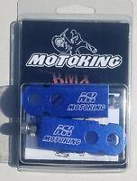 MOTOKING BMX CHAIN TENSIONERS  PAIR BLUE