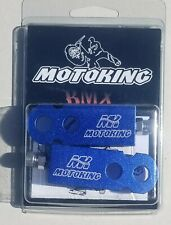 MOTOKING BMX CHAIN TENSIONERS  PAIR BLUE