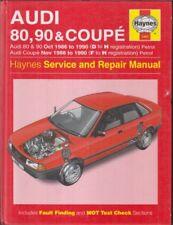 AUDI 80 90 & COUPE 1.6 1.8 2.0 2.2 2.3 PETROL 1986 - 1990 REPAIR MANUAL
