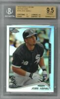 JOSE ABREU 2014 Topps Chrome REFRACTOR RC BGS 9.5 Gem Mint HOT MVP? INVEST