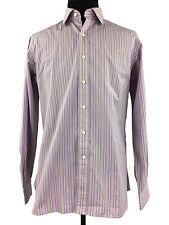 Ralph Lauren Polo Mens Long Sleeve Striped Button Down Dress Shirt Size XL 17 43