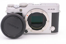 Fujifilm X-A3 Mirrorless 24.2 MP Digital Camera - Silver (Body Only)