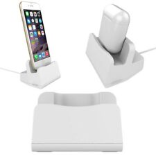 DIY Desktop Charging Stand Cradle Charger Dock For iPhone 5 6 7 8 Plus X Airpod
