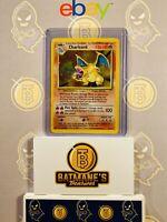 Charizard 4/102 MP/LP Lightly Played Base Set Rare Holo Pokemon Card 1999 WOTC