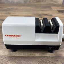 New listing Chef's Choice Diamond Hone Knife and Scissor Sharpener Model:300 No Box Usa