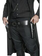 Pistole Cintura Holster Cowboy Western Cintura armi Cintura Pelle Look