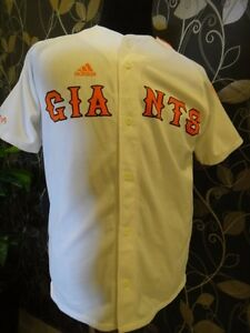 ADIDAS 2007 YOMIURI GIANTS JAPAN BASEBALL CENTRAL LEAGUE JERSEY / SHIRT NPB